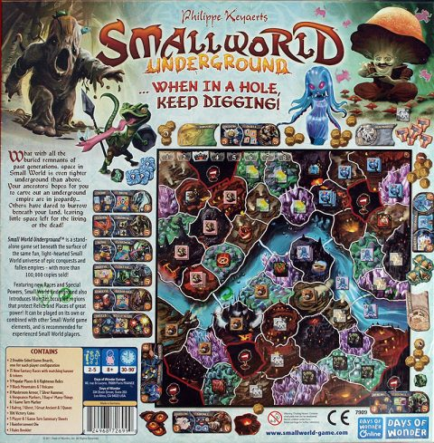 Small World Underground back