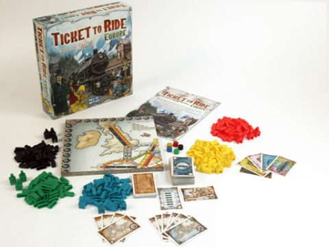 Ticket to Ride Europe content