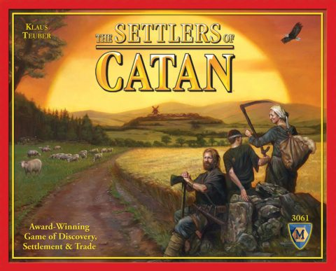 The Settlers of Catan front