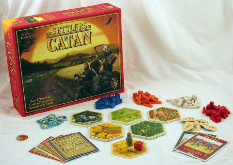 The Settlers of Catan content