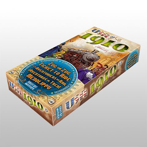 Ticket to Ride 1910 box
