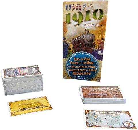Ticket to Ride 1910 elements