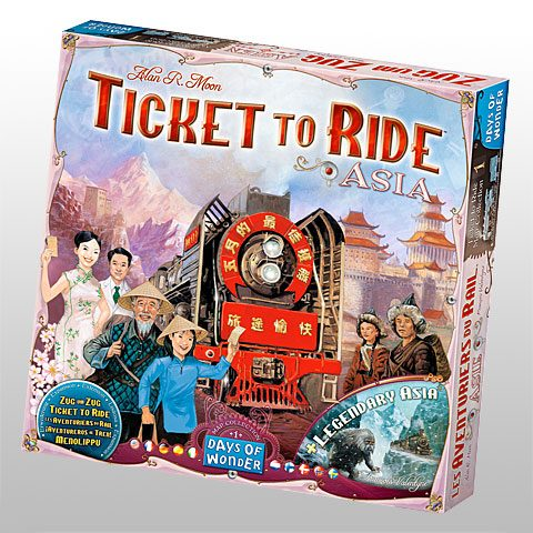 Ticket to Ride Asia box