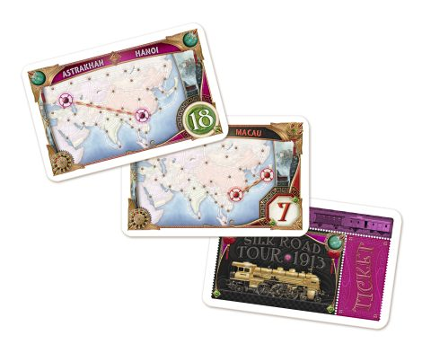 Ticket to Ride Asia cards