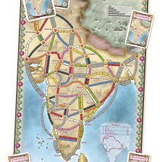 Ticket to Ride India map