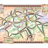 Ticket to Ride Swiss map