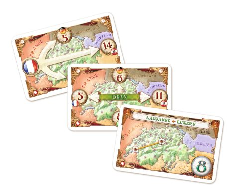 Ticket to Ride India cards