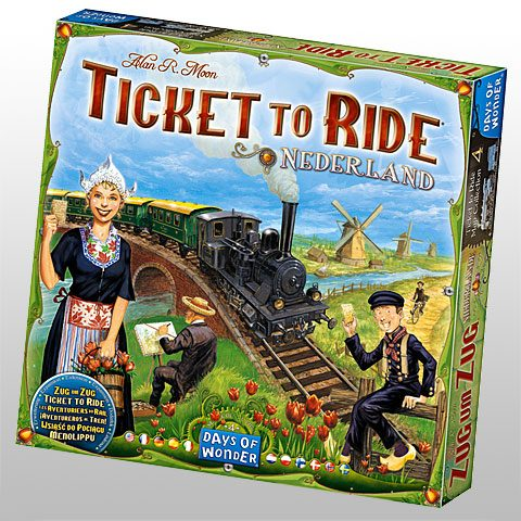 Ticket to Ride Nederland box