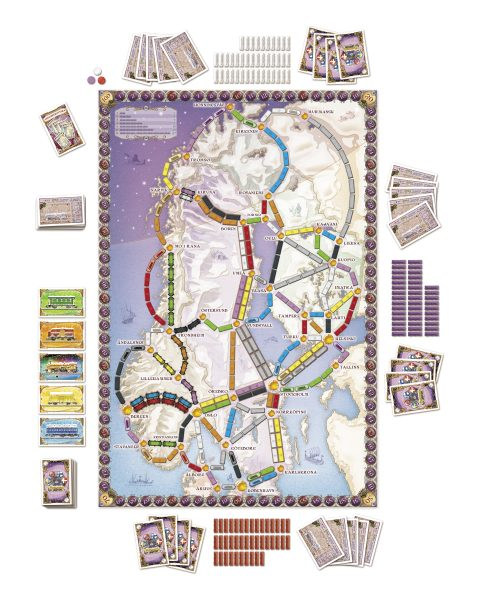 Ticket to ride Nordic board