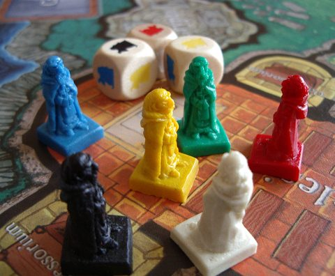 Mystery of the Abbey pawns