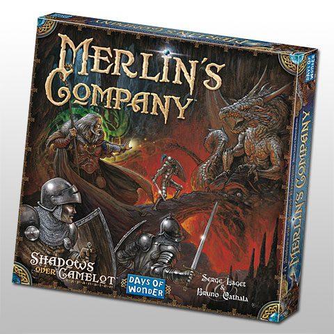 Shadows over Camelot: Merlin's Company uitbreiding box