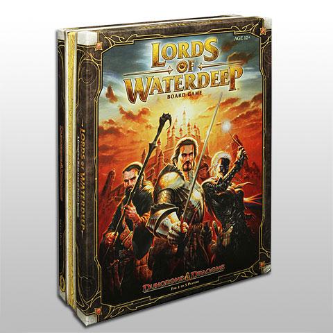 Lords of Waterdeep Bordspel