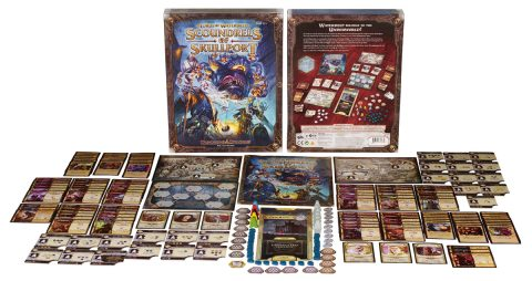 Lords of Waterdeep Scoundrels of Skullport contents