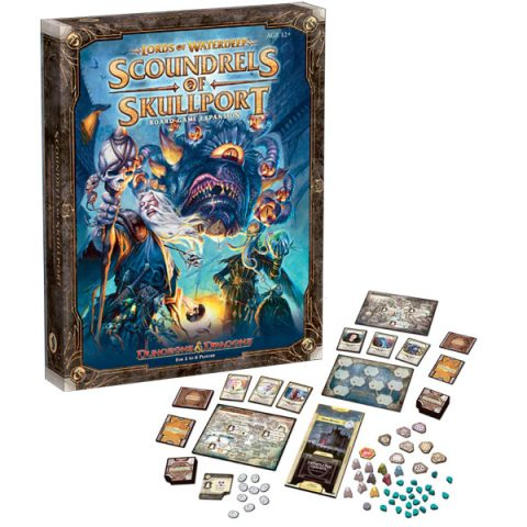 Lords of Waterdeep Scoundrels of Skullport box