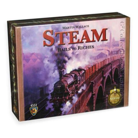 Steam bordspel box