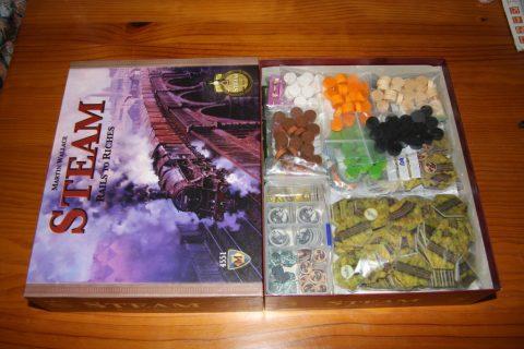 Steam bordspel contents
