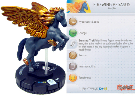 Yu-Gi-Oh Heroclix miniature