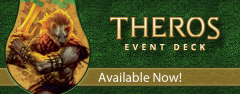 Magic Theros Event Deck banner