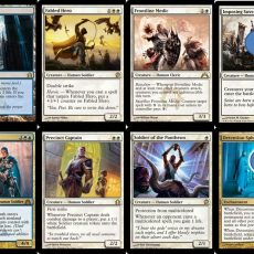 Magic Theros Event Deck cards
