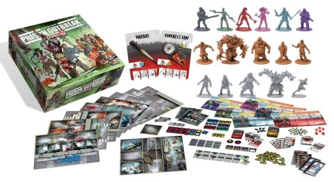 Zombicide Expansion Toxic City Mall
