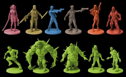 Zombicide Expansion Toxic City Mall minis