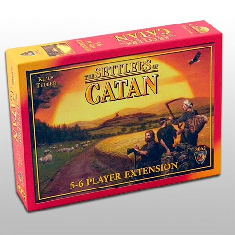 Settlers of Catan 5-6 players expansion
