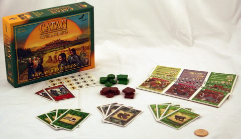 Catan Cities and Knights 5-6 player expansion