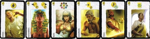 7 Wonders leader cards