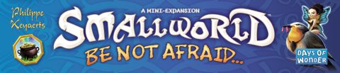 Small World Be not afraid banner