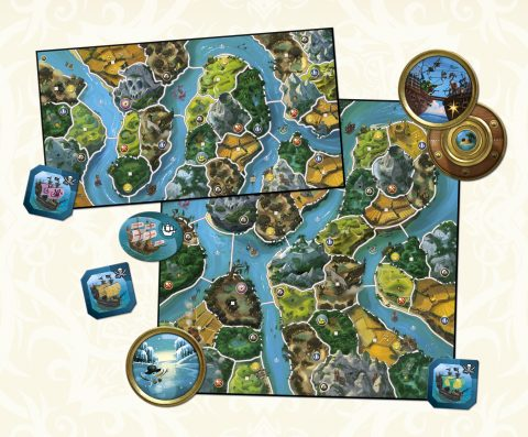 Small World River World content