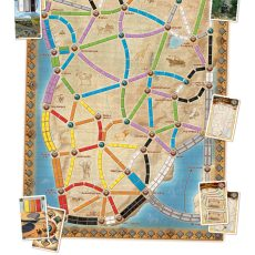 TICKET TO RIDE The Heart of Africa board