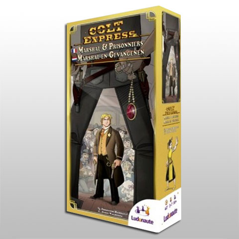 Colt Express: Marshal and Prisoners