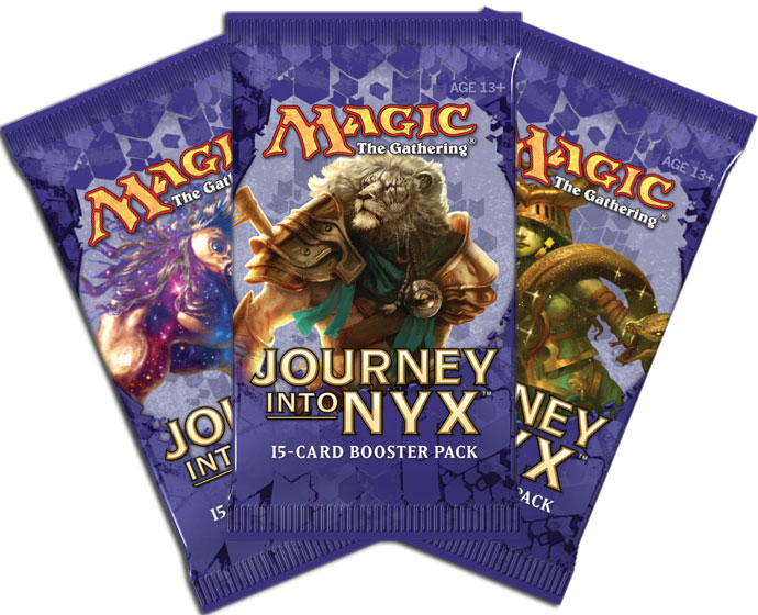 MTG Journey into Nyx Booster