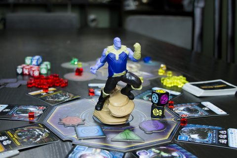 Thanos Rising board