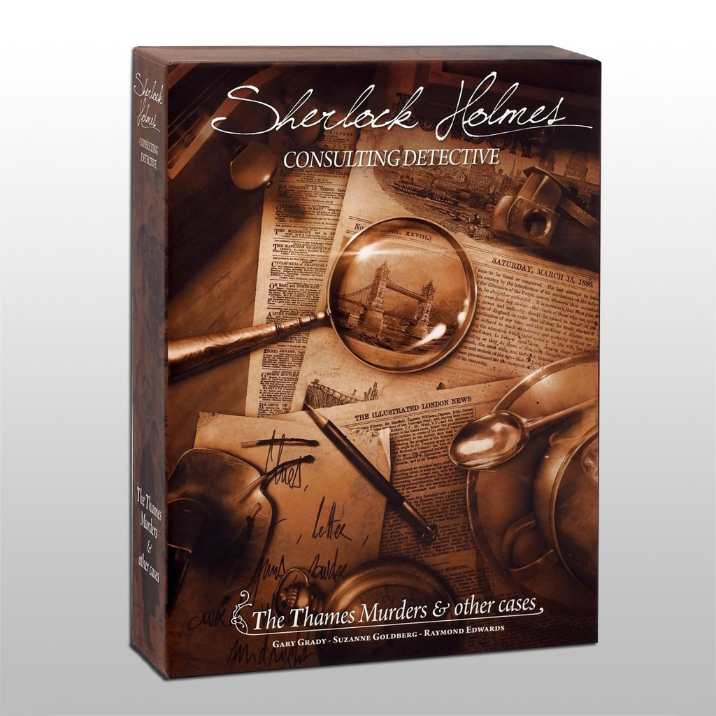 Sherlock Holmes Thames Murders & Other Cases