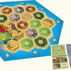 catan cities and knights board