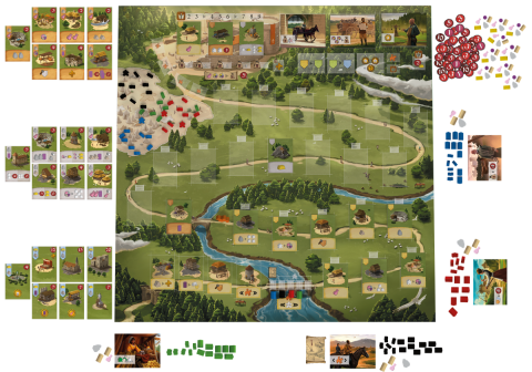 Caylus-1303 components