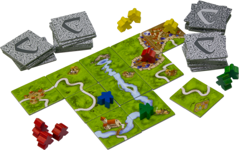 Carcassonne Components 2