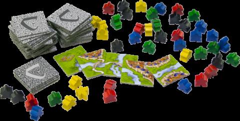 Carcassonne Components 1