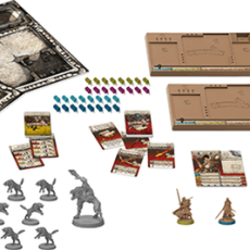 Zombicide: Black Plague – Wulfsburg components