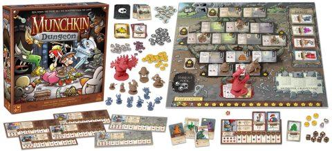 munchkin-dungeon contents